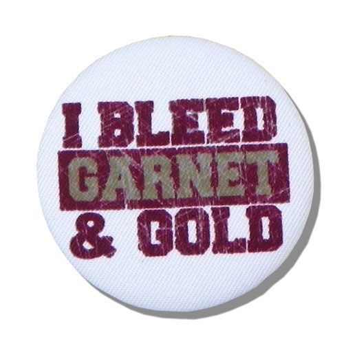 White I Bleed Garnet & Gold Button: Button Ultimatetailgate, Gold Fsu, Noles Nation, Bleed Garnet, Fsu Noles, Buttons, Noles Babyee
