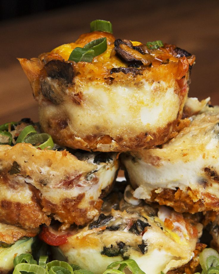 These Sweet Potato Hash Egg Cups Are Such An Easy To-Go Breakfast NO CHEESE