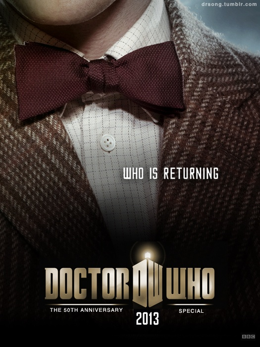 YAAAAAAAAAAAYY!!!!!: Bows Ties, Doctorwho, Doctors Who, Poster, 50Th Anniversaries, Matte Smith, Dr. Who, 11Th Doctors, Eleventh Doctors
