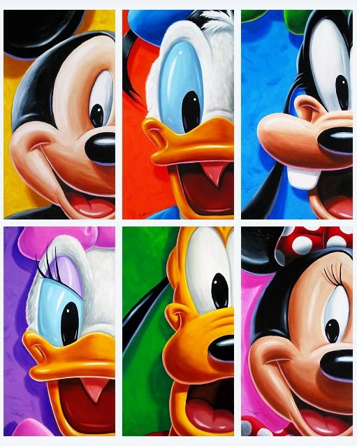 DISNEY!!! (it even includes Daisy...idk why Daisy usually gets the shaft but glad she is included!)