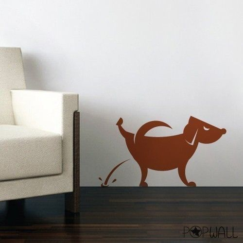 Best Deciding On These For Dog Art On Shop Walls Images On - Custom vinyl wall decals dogs