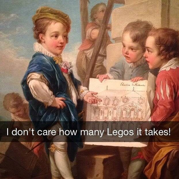 asshole thinks he has class  by classical_art_memes