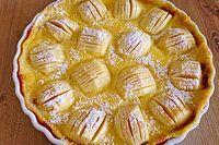 Pudding Apfelkuchen – Backen