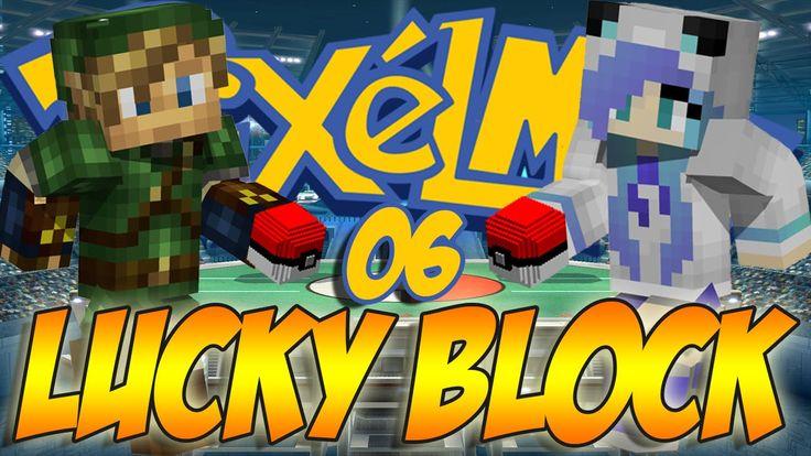 Minecraft [ITA] : Pixelmon Lucky Block Challenge - LE SCULATE DI QUINFER !!