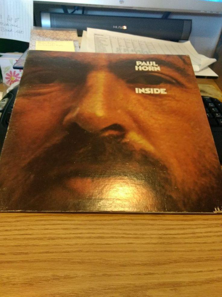 Paul Horn-Inside Vinyl Album