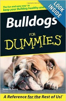 Bulldog Care Book. This is great! Need this.