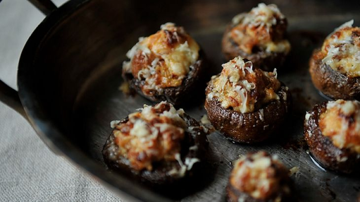 Creamy Sausage Stuffed Mushrooms Recipe