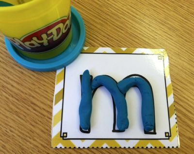Kids love playdoh!  They won't even know they are learning!  :) Primary Possibilities: Play-Doh Fun!