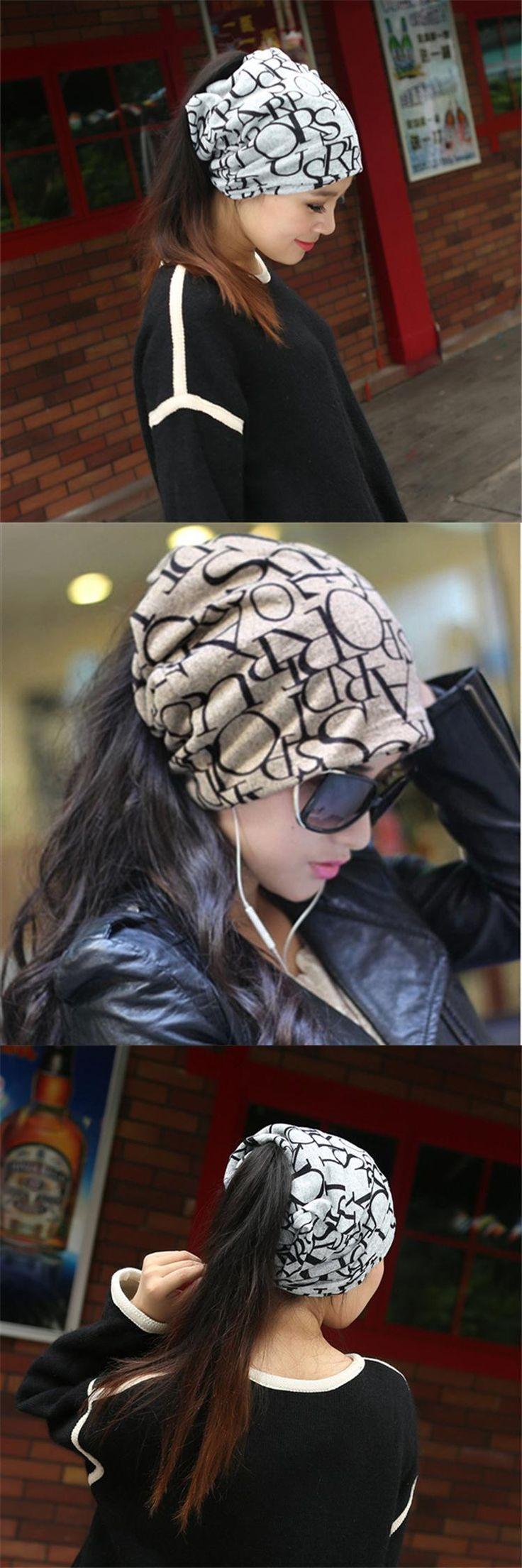 2017 Adult New Winter Hat Deck Imitation Cashmere English Alphabet Cap Multifunctional Baotou Maternity Anti Wind Hip Hop Sale
