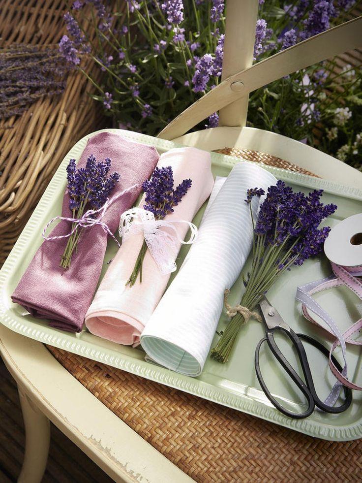 Der Duft Von Lavendel Gehört Für Uns Zum Sommer Einfach Dazu! Wir Basteln  Mit Dem