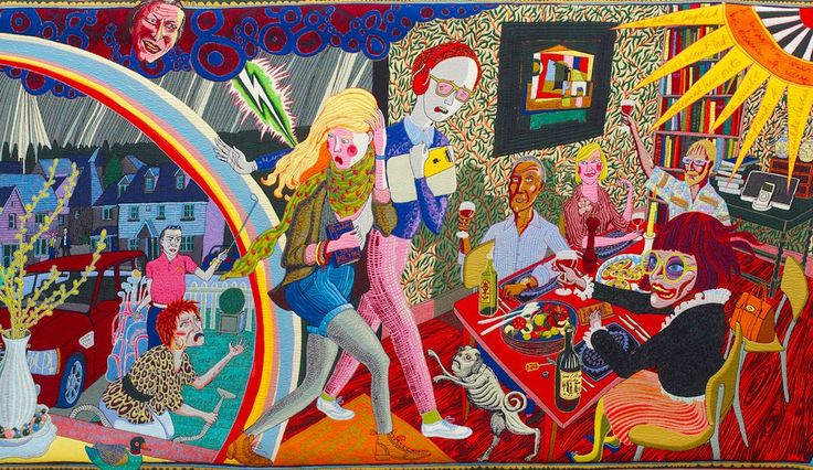Art, Painting: He calls himself 'The Transvestite Potter', everyone else knows him as the nation's favourite contemporary artist - don't miss this Grayson Perry Serpentine exhibition