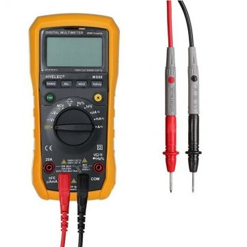 HYELEC MS88 Professional Multimeter Multifunction Digital Multimeter Auto Manual Range