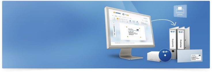 HERMA Etiketten Software online - Etiketten online drucken