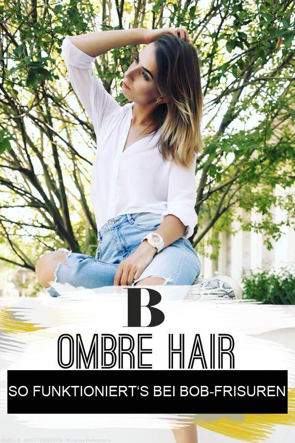 Ombré Hair So Funktioniert Der Haartrend Auch Bei Bob Frisuren