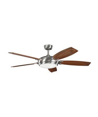 Kichler 300156 Trevor 60 Inch Ceiling Fan With Light Kit
