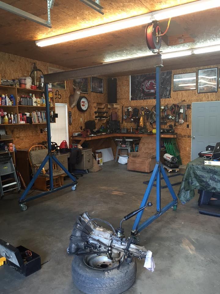 143 best gearhead tools homemade tools custom tools for Shop hoist plans