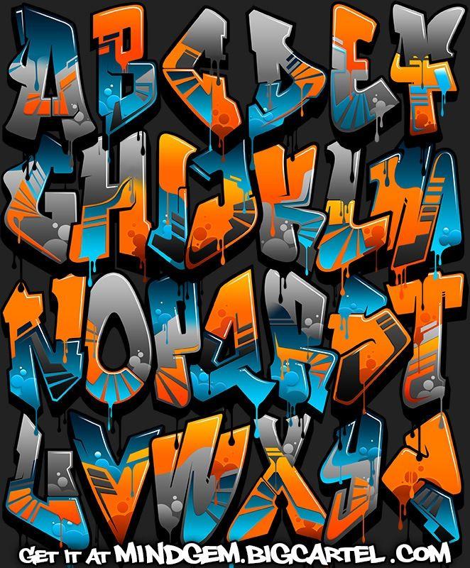 graffiti fonts - Bing images