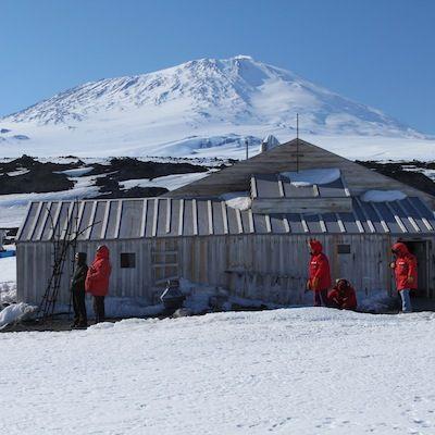 Antarctica Delta Trip to Cape Evans Scott's Hut. Photo by Eli Duke