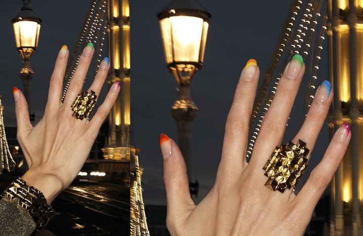 i want this manicure!