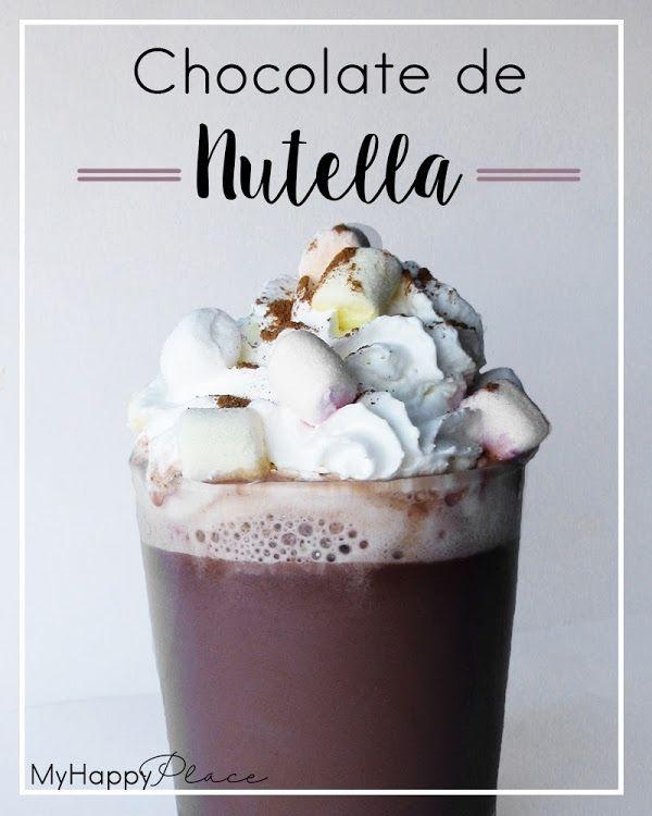 El mejor chocolate del mundo. Chocolate de nutella - MyHappyPlace