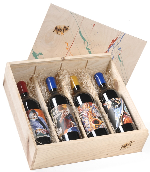 Artiste wine gift collection