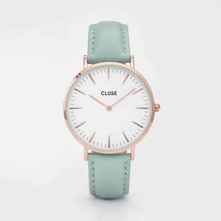 La Bohème Rose Gold White/Pastel Mint