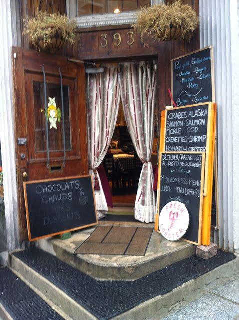 Café Bistro Serafim >> ms. whipp