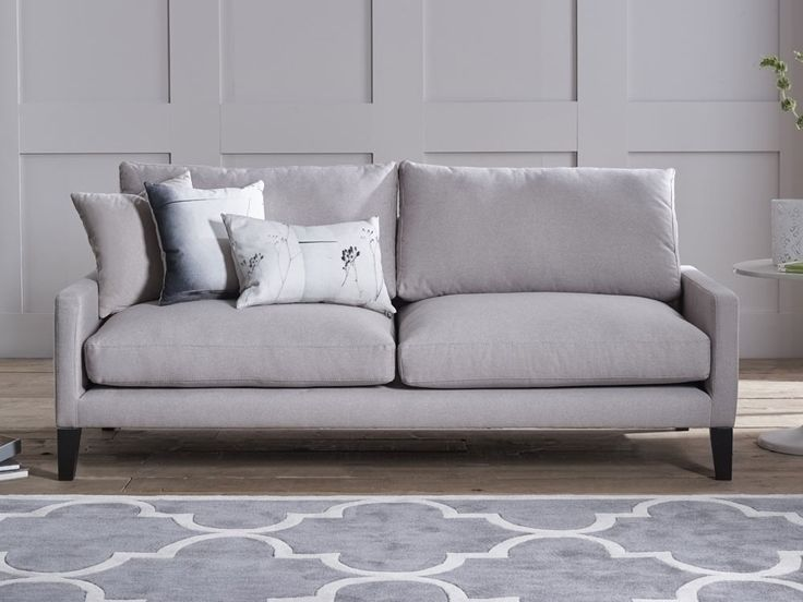 Aubrey Sofa - Its light design and smooth lines are inviting and evoke an understated grace - by www.livingitup.co.uk