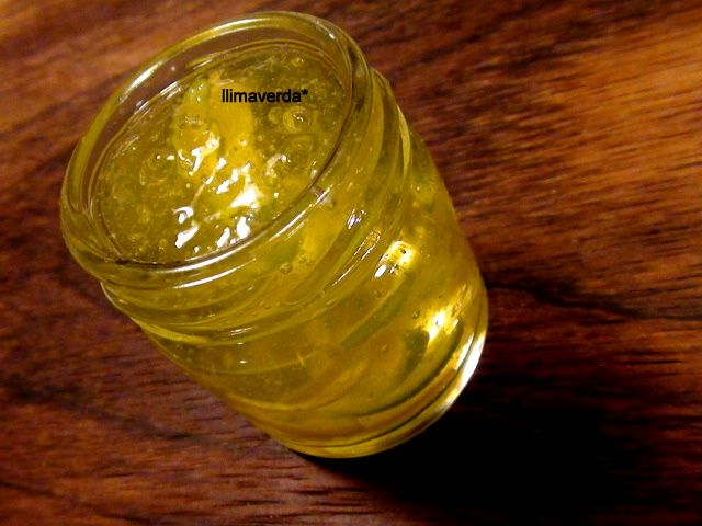 mermelada de lima y limón