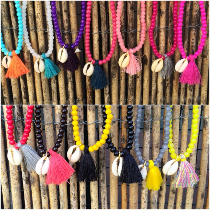 Short shells Necklaces