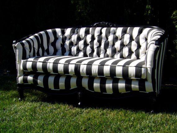 One Of A Kind Sofa/Love Seat Por Twentynineten En Etsy