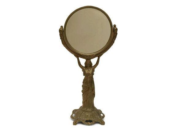Makeup Vanity Mirror. Antique French Mirror. by LeBonheurDuJour
