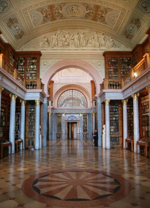 Bibliotheca Sanctus - The Library of Pannonhalma Archabbey in Pannonhalma, Hungary
