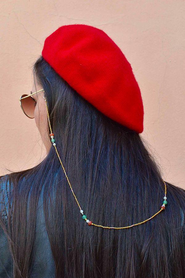 meilleure qualité nouveau design vente usa en ligne Le grand retour du beret et du cordon de lunettes. Comment ...