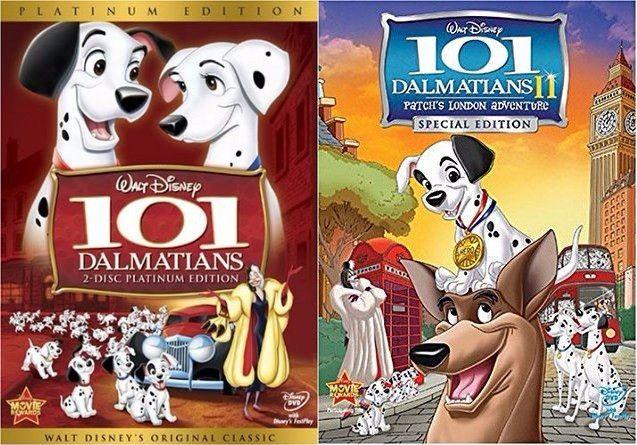 101 Dalmatians & 101 Dalmatians 2 (DVD)