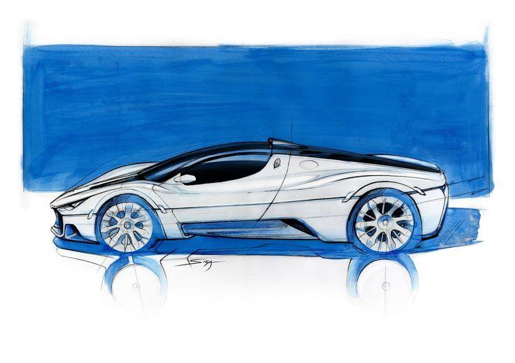 Maserati MC12 concept by Aldo Maria Sica Hypercars (2) » Hypercars