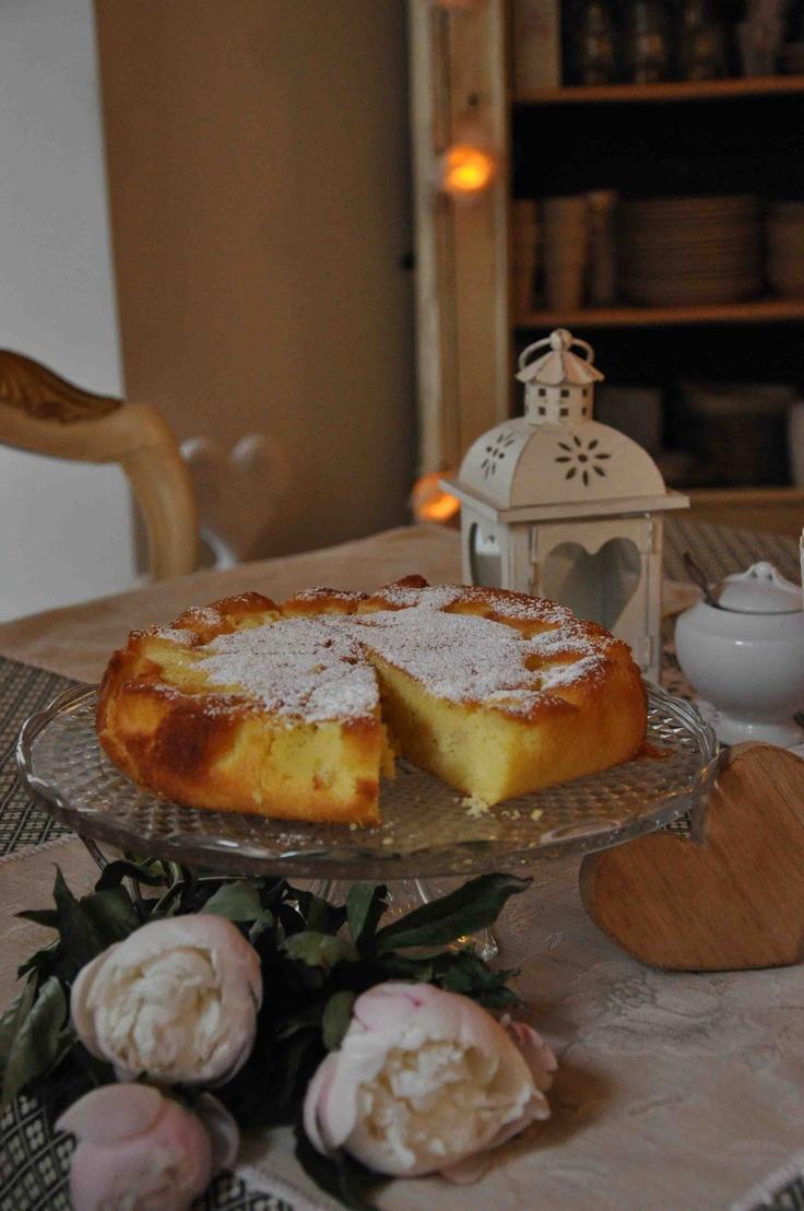 Torta di mele del Bed and Breakfast il Cuore, Massa, Toscana, Italia