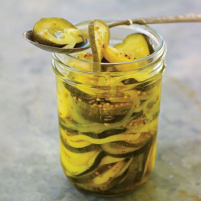 Squash Pickle Medley - Pickle Recipes to Relish - Southern Living