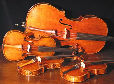 String Quartet Instruments images