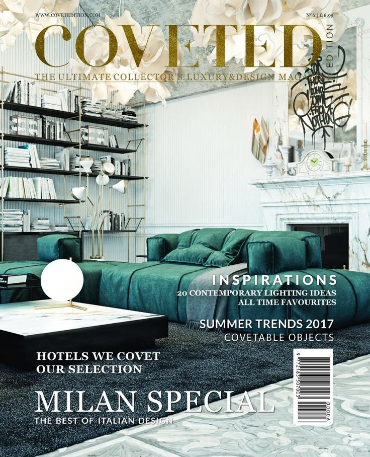 @CovetedMagazine's 6th issue presents some special news about Milan and is going to be distributed at Salone del Mobile 2017, one of the most prestigious worldwide events regarding luxury furniture brands e the interior design industry. DOWNLOAD FREE NOW! ➤ Discover the season's newest designs and inspirations. Visit Best Interior Designers at  www.bestinteriordesigners.eu #bestinteriordesigners #topinteriordesigners #bestdesignprojects @BestID