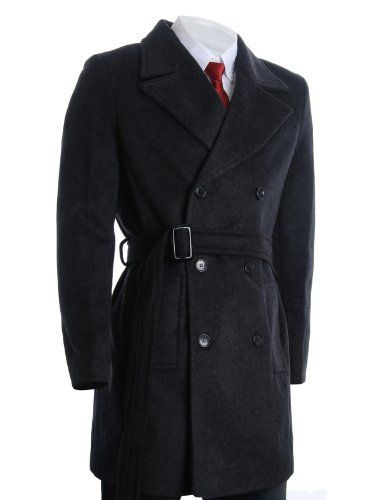 FLATSEVEN Mens Winter Double Breasted Pea Coat Long Jacket (CT122) Charcoal, M FLATSEVEN http://www.amazon.com/dp/B00A4Z6OC4/ref=cm_sw_r_pi_dp_abg1ub1ESTDXE