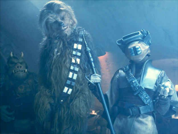 "The 10 Best Chewbacca Quotes ""RRWWWGG."" - Return of the Jedi"