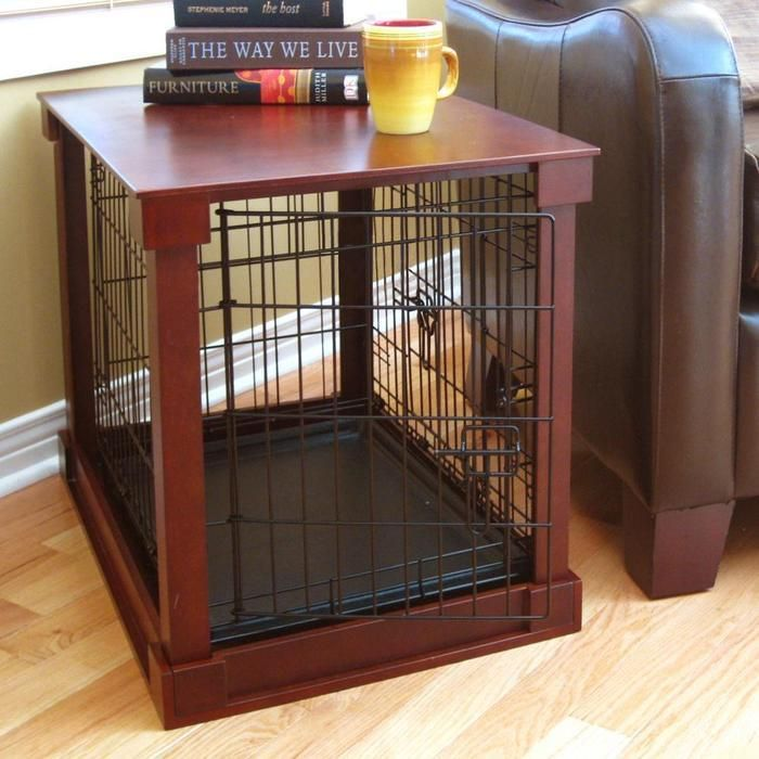 Wood Dog Crates at Brookstone—Buy Now!