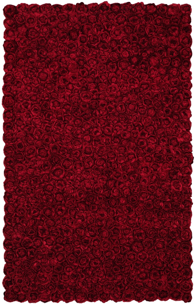 HRI Romeo 1 Red Hand-Tufted, Best Quality Area Ru