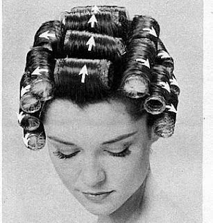 no idea why I'm so obsessed with hot rollers right now.
