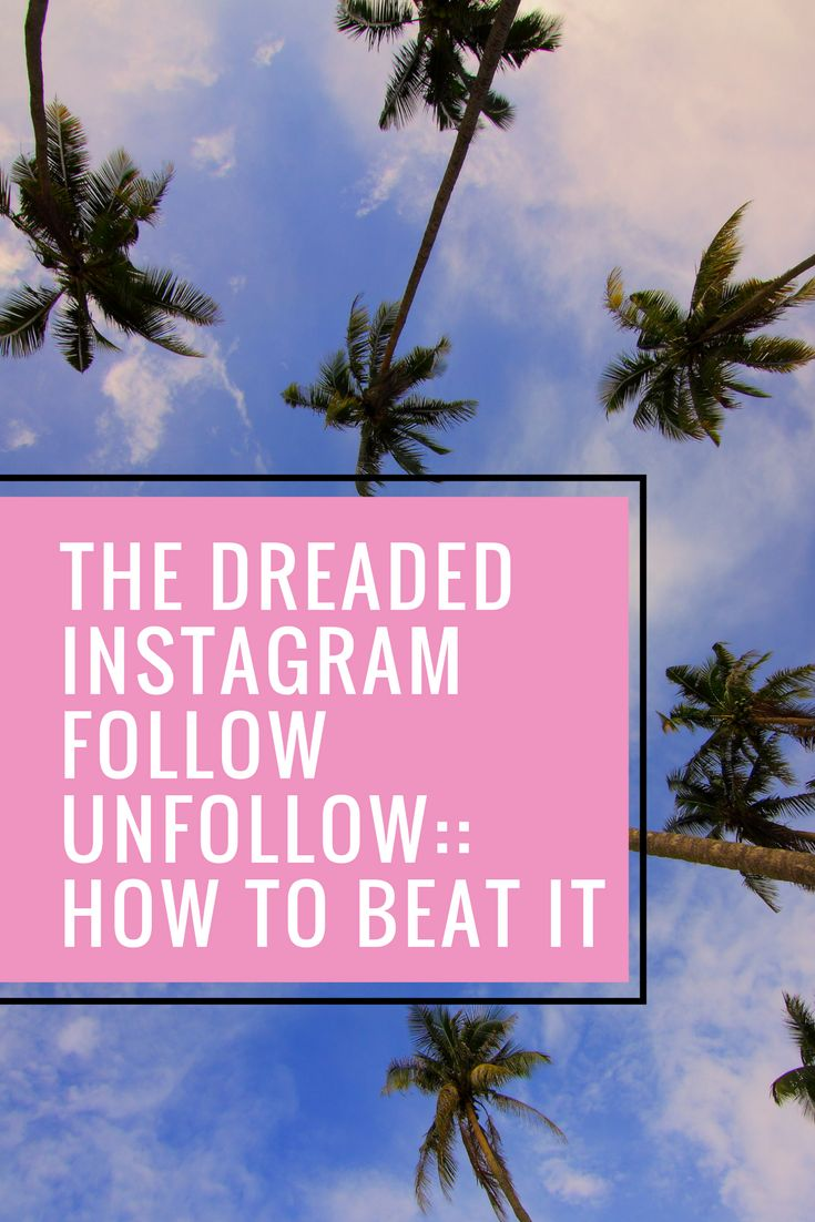 How to Beat the Instagram Follow Unfollow tactic | Stevie Says Social - Instagram, Facebook, Pinterest and other Social Media tips, strategy, tactics and more.