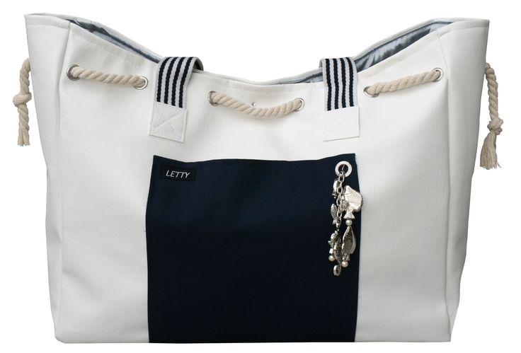Dawanda Tasche, LETTY, Beach-Bag, Strandtasche, maritim, Sylt, Ostsee, Nordsee, Urlaub