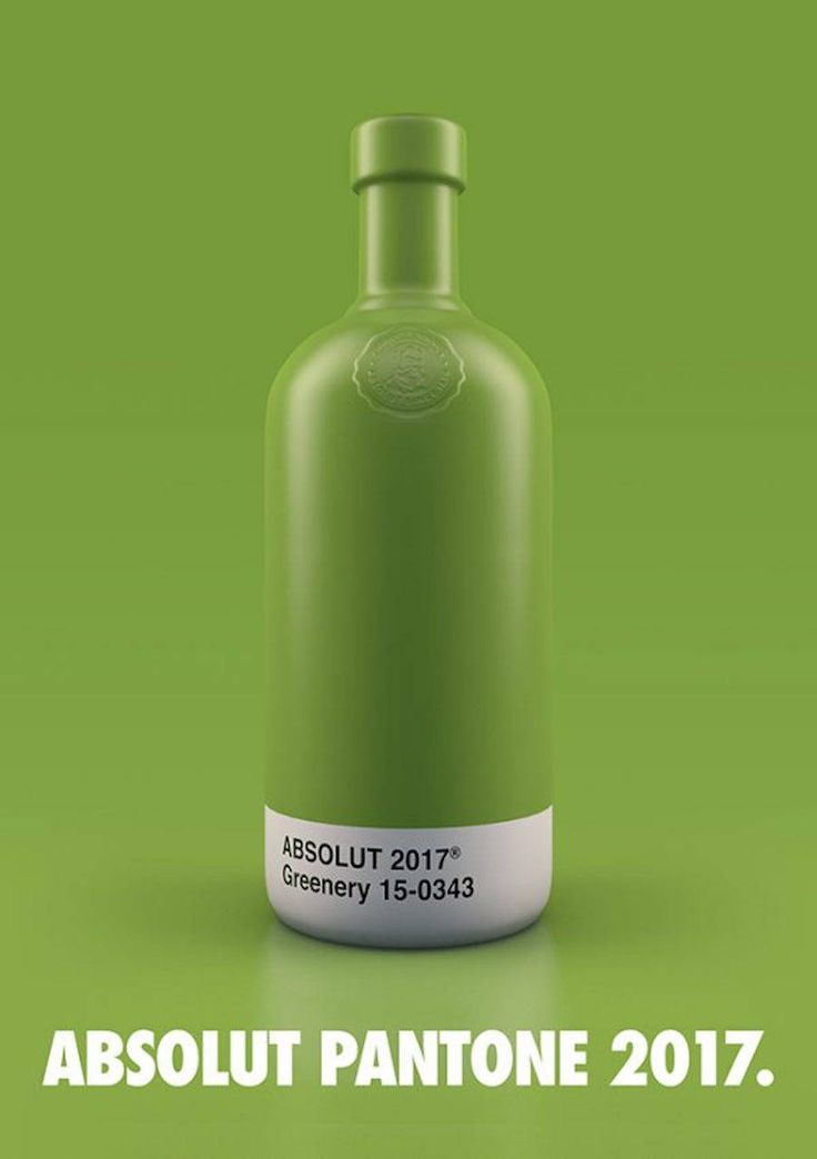Refreshing Pantone Absolut Bottles  Already noticed on Fubiz for his collaboration with Nike graphic designer Txaber redesigned creative vodka brand Absolut bottles. Before his work Krizia Soetaniman covered them with Marvel heroes costumes.             #xemtvhay