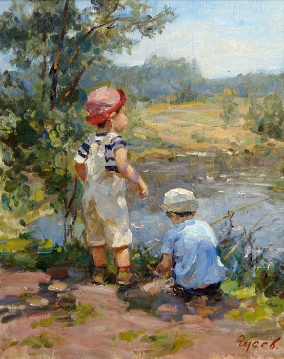 Vladimir Gusev - pinturas