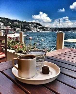Good Morning! Coffee in Istanbul.